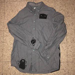 Cat & Jack Boys button down shirt